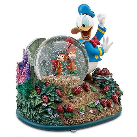 """【即納可】ディズニー スノーグローブ チップ&デールとドナルド ''Chip an' Dale with Donald Duck"""""""