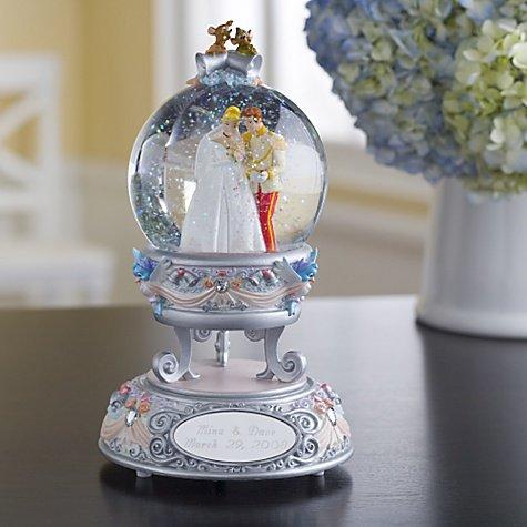 """ディズニー スノーグローブ  'Wedding Cinderella """" シンデレラの結婚式"""