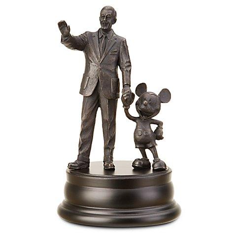 ウォルト・ディズニーとミッキー彫像フィギュア ''Partners'' Walt Disney and Mickey Mouse Statue