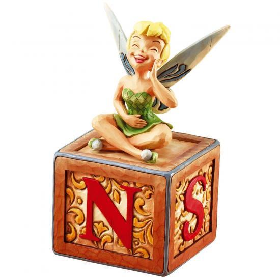 ディズニー ジム・ショア Jim Shore ティンカーベル ボックス フィギュア Tink on Lidded Box: A Big Laugh