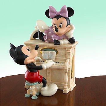ディズニー ミッキーマウス ミュージカルメロディ Disney's Mickey's Musical Melody Figurine by Lenox