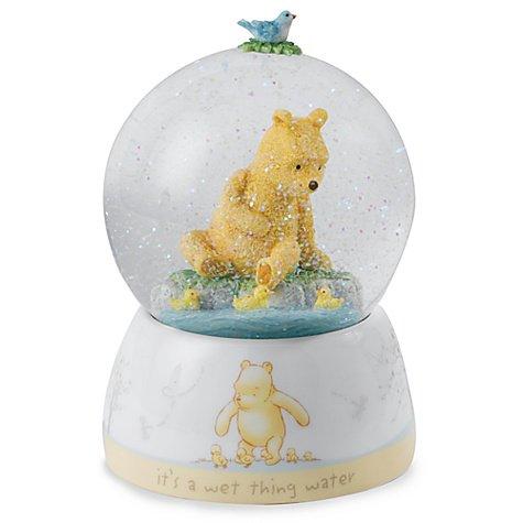 【EU限定】スノーグローブ くまのプーさん Winnie the Pooh and Ducklings Snow Globe