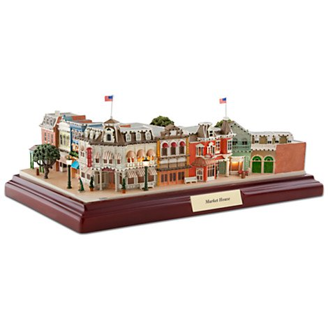 ディズニーワールド マーケットハウス ミニチュア Walt Disney World Market House Miniature