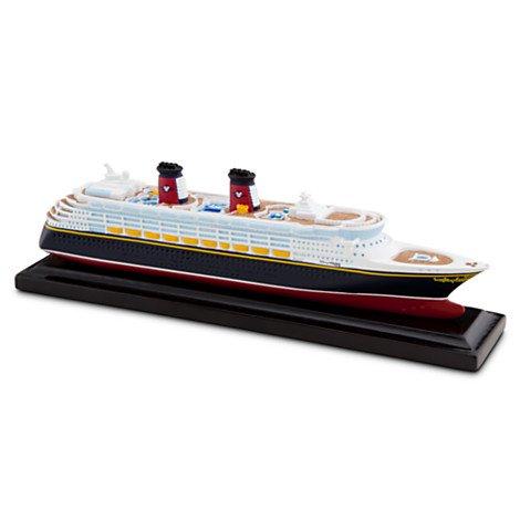 ディズニークルーズラインシップ ミニチュアDisney Cruise Line Ship Miniature - Disney Wonder