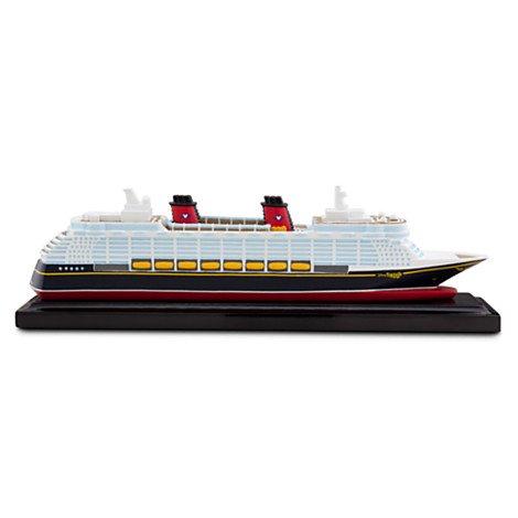 ディズニークルーズラインシップ ミニチュアDisney Cruise Line Ship Miniature - Disney Fantasy