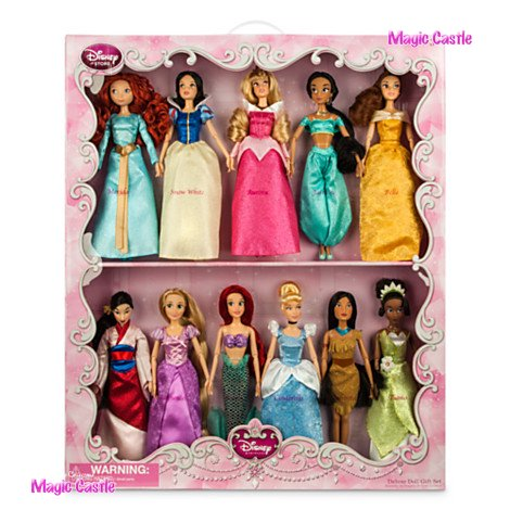 11 disney princess dolls 11 pack. Black Bedroom Furniture Sets. Home Design Ideas