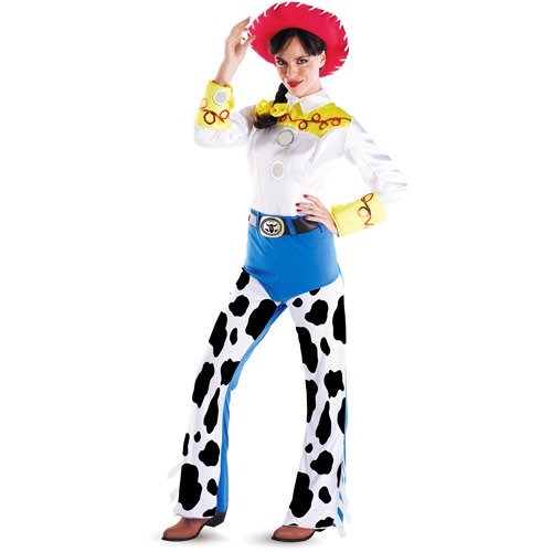 【Womens】 ディズニー トイ・ストーリー ジェシー コスチューム Adult Toy Story Deluxe Jessie Costume