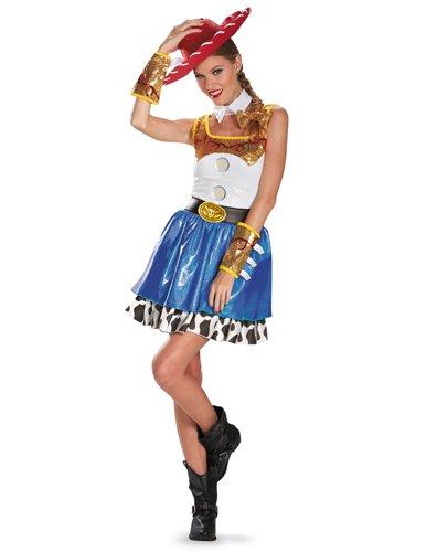 【Womens】トイ・ストーリー ジェシー グラムコスチューム Jessie Glam Adult Women's Costume