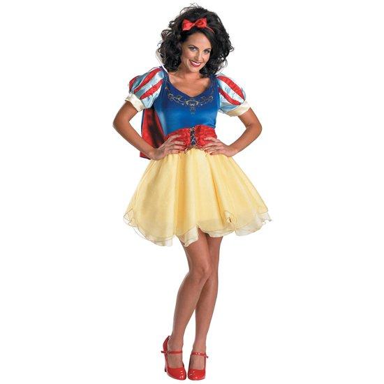 【Womens】 ディズニー 白雪姫 プレステージ ミニ コスチューム Sassy Prestige Snow White Costume