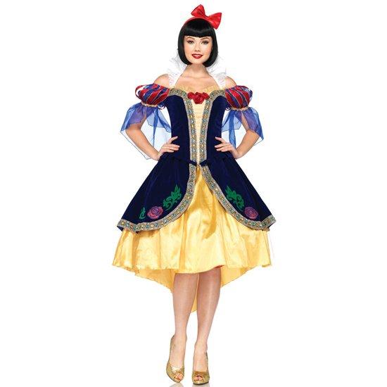 【Womens】 ディズニー 白雪姫 スーパーデラックス プリンセス コスチューム