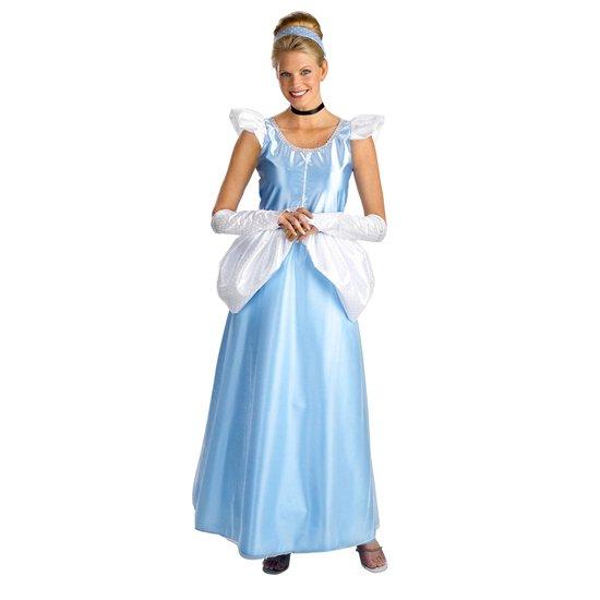 【Womens】シンデレラ ス スタンダード プリンセス コスチューム ADULT CINDERELLA DRESS COSTUME