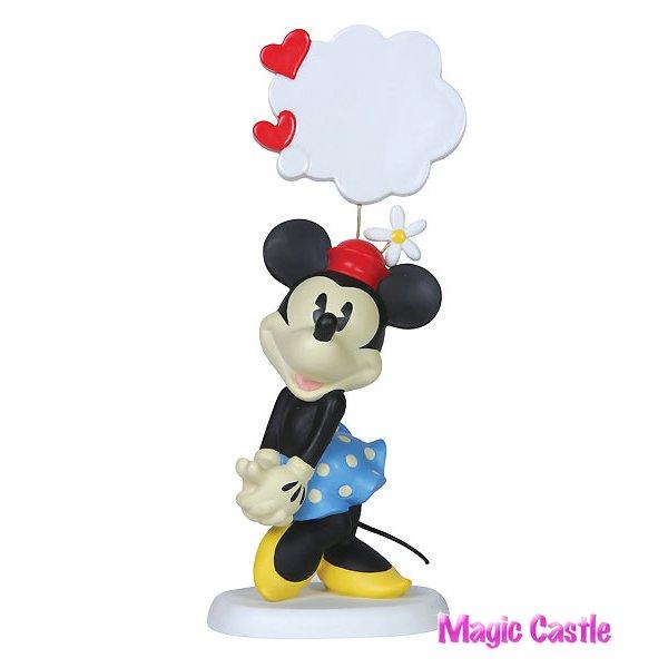 ディズニー プレシャスモーメンツ ミニーマウス Minnie Mouse - My Thoughts Are Filled With You