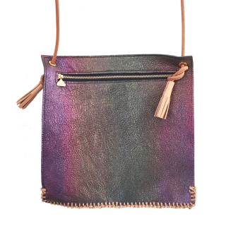Square Leather shoulder bag