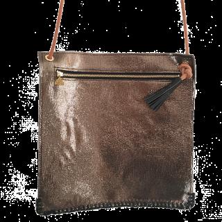 Square Leather shoulder bag