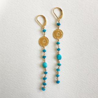 Sleeping Beauty Turquoise Piercings Long