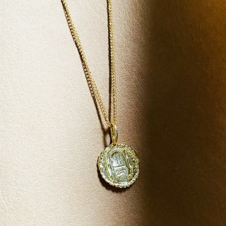 Horseshoe coin Necklace