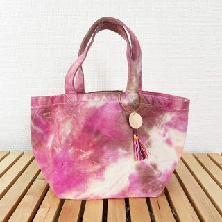 <img class='new_mark_img1' src='https://img.shop-pro.jp/img/new/icons14.gif' style='border:none;display:inline;margin:0px;padding:0px;width:auto;' />Tie-dye Tote bag Small size