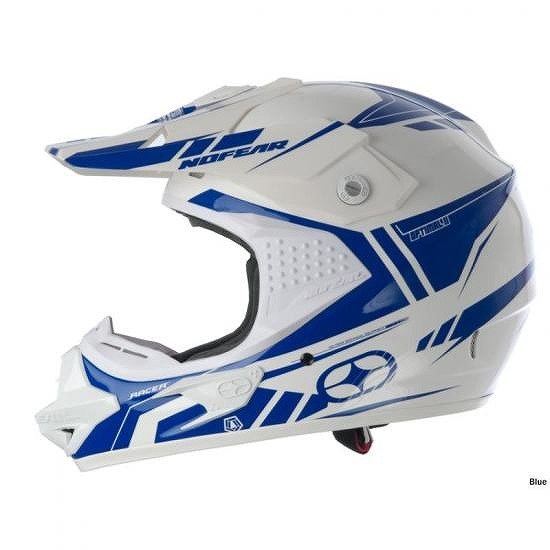 No Fear Optimal II Evo Helmet 2010 From  BLUE