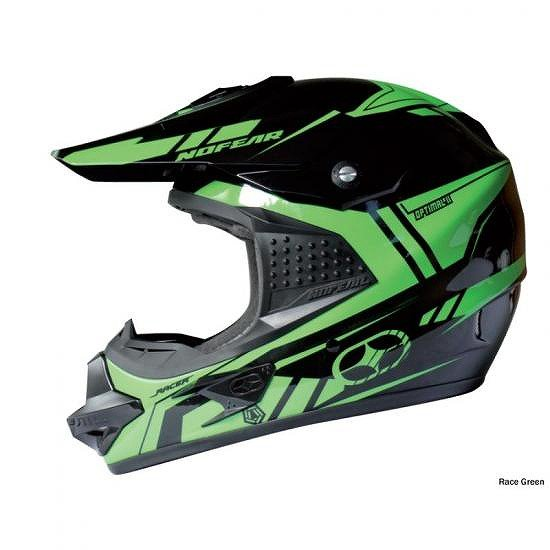 No Fear Optimal II Evo Helmet 2010 From  Small - Race Green