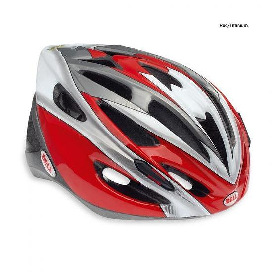 Bell Solar Helmet 2011 From  -  Unisize Adult - Red/Titanium