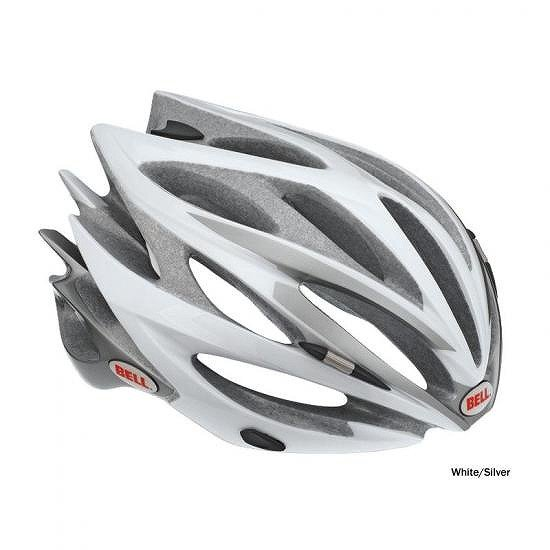 Bell Sweep Helmet 2011ベル スウィープ ヘルメット51-55cm Small - White/Silver