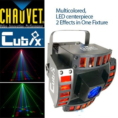 Chauvet Cubix Multicolored LED Light マルチ カラー LEDライト