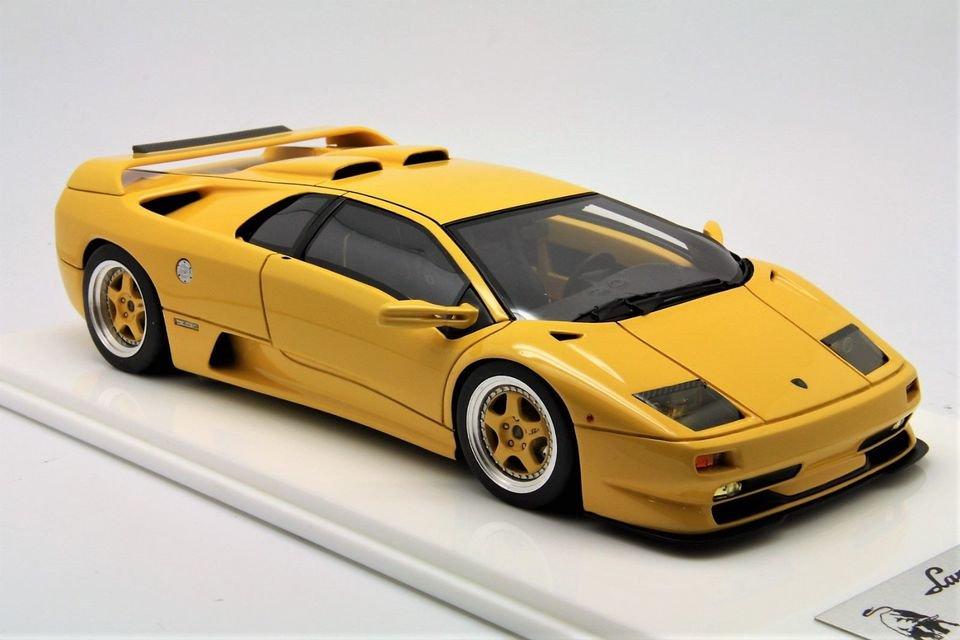 1 18 Versus Lamborghini Diablo Sv 35th Anni Yellow Mr Bbr Make