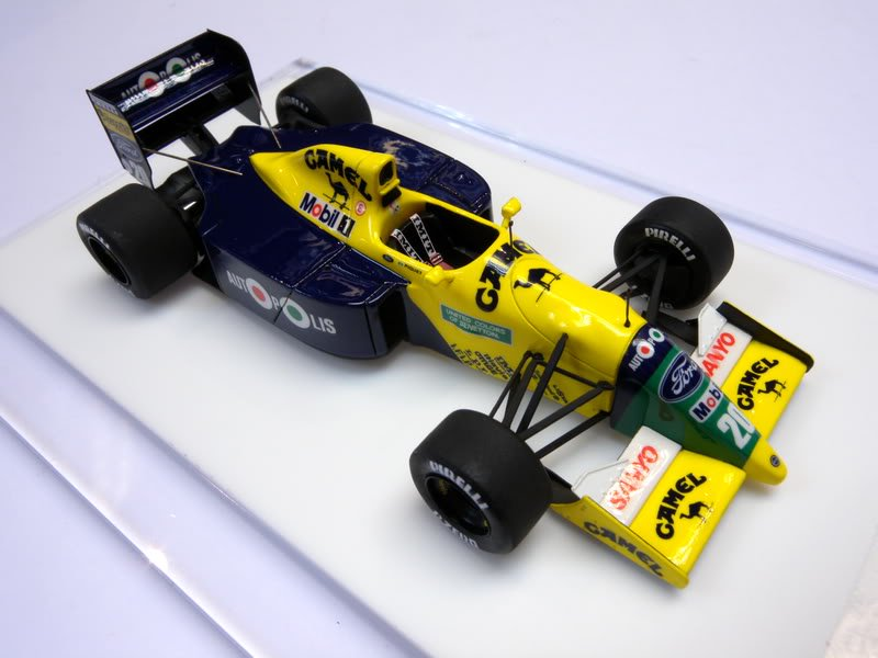 Benetton b190b usa gp 1991 nelson piquet tameo kit 1 43 for Benetton usa online shop
