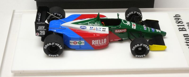 Benetton b189b usa gp 1990 nelson piquet tameo kit 1 43 for Benetton usa online shop