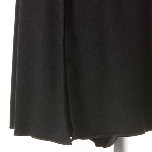大人用スリットスカート付きバレエショートパンツ ブラック (XLサイズ)の詳細写真03