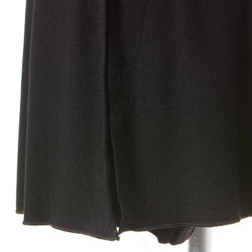 大人用スリットスカート付きバレエショートパンツ ブラック (XXLサイズ)の詳細写真03