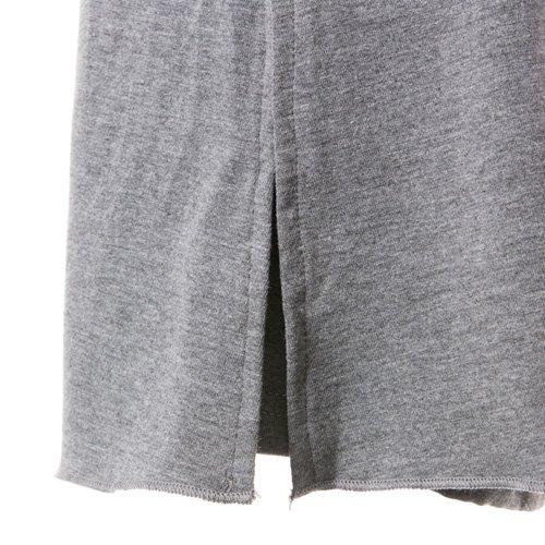 大人用スリットスカート付きバレエショートパンツ グレー (XLサイズ)の詳細写真03