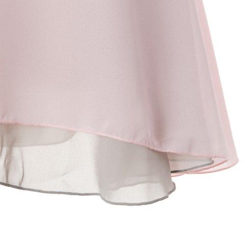 大人用リバーシブルバレエ巻きスカート ライトピンクグレー (フリーサイズ)の詳細写真06
