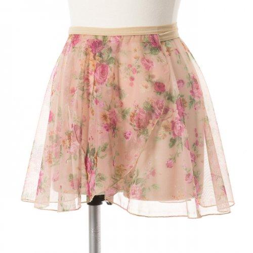 花柄レーススカートの写真