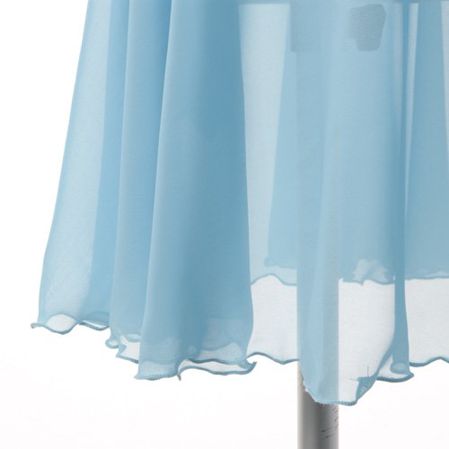バレゾナンスオリジナル 水色シフォンのスカート付きレオタードの詳細写真05