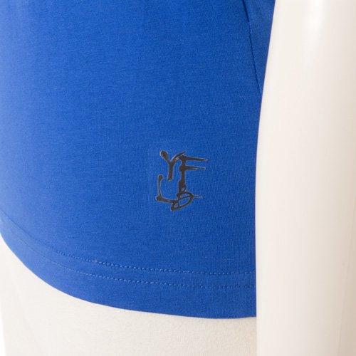 ヨガウェア セット ブラック×ブルー Mサイズの詳細写真06