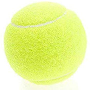 ストレッチに使用できるテニスボールの写真