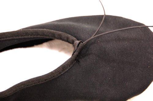 格安男性用バレエシューズ スプリットソールballetshoes ブラック (26.5cm)★の詳細写真02