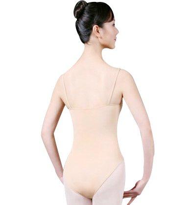 バレエ用ボディファンデーション ベージュ(M)★の後ろからの写真