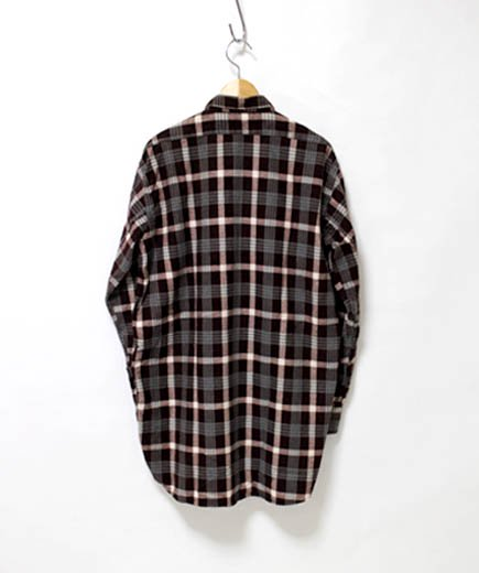 <img class='new_mark_img1' src='//img.shop-pro.jp/img/new/icons24.gif' style='border:none;display:inline;margin:0px;padding:0px;width:auto;' />USED WEAR grand father shirts flannel(グランドファーザーシャツ フランネル)の詳細画像 1