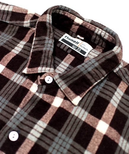 <img class='new_mark_img1' src='//img.shop-pro.jp/img/new/icons24.gif' style='border:none;display:inline;margin:0px;padding:0px;width:auto;' />USED WEAR grand father shirts flannel(グランドファーザーシャツ フランネル)の詳細画像 2