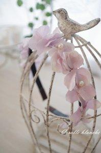 お花のカチューシャ(紫陽花)