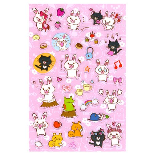 <img class='new_mark_img1' src='//img.shop-pro.jp/img/new/icons29.gif' style='border:none;display:inline;margin:0px;padding:0px;width:auto;' />【生産終了品】クリアシール(手書きアート) MO