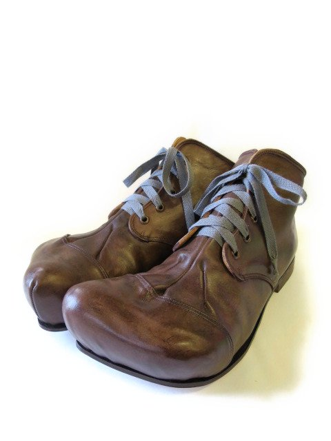 『The Old Curiosity Shop』Big foot/leather shoes (アンティーク) - Seltie ONLINE  STORE