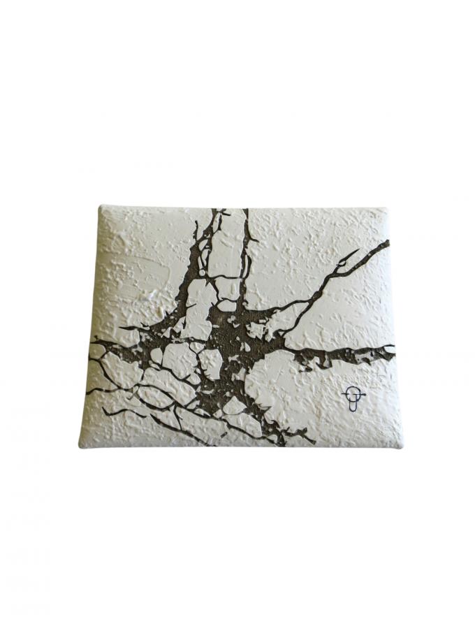 『kagari yusuke』封筒型小銭入れ/コインケース (レーザークラック)