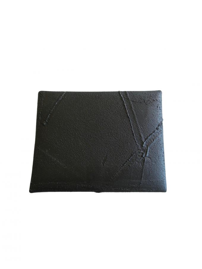 『kagari yusuke』封筒型小銭入れ/コインケース (ブラック)