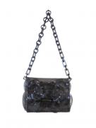 『Mame Kurogouchi』PVCミニチェーンバッグ/Vinyl Chloride Mini Chain Bag (ブラック)