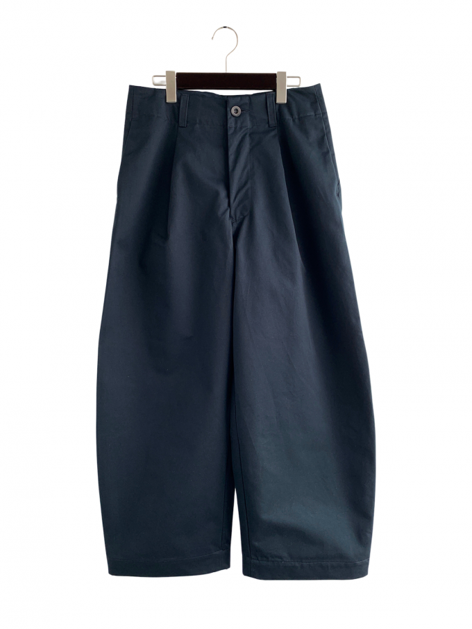 『ASEEDONCLOUD』 HW wide trousers (備前壱号)