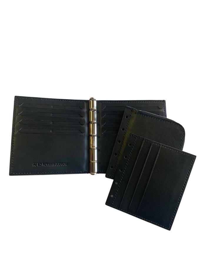『ED ROBERT JUDSON』BUND HALF WALLET/折り財布 (ブラック)