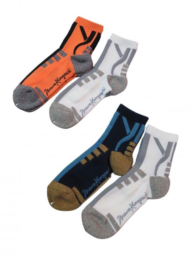 『Mame Kurogouchi』2足セットソックス/Two Pack Sport Socks (2カラー)